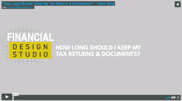 How Long Should I Keep My Tax Documents?