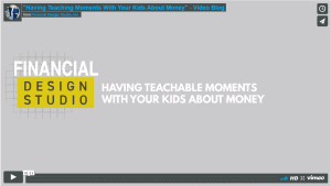 [Video] Having Teaching Moments With Your Kids About Money