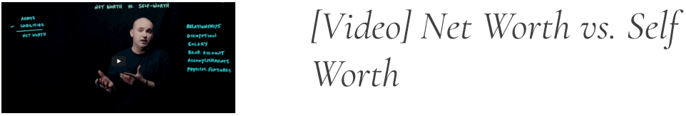fds net worth self worth