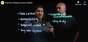 [Video] Cash Flow: Merging Accounts Together