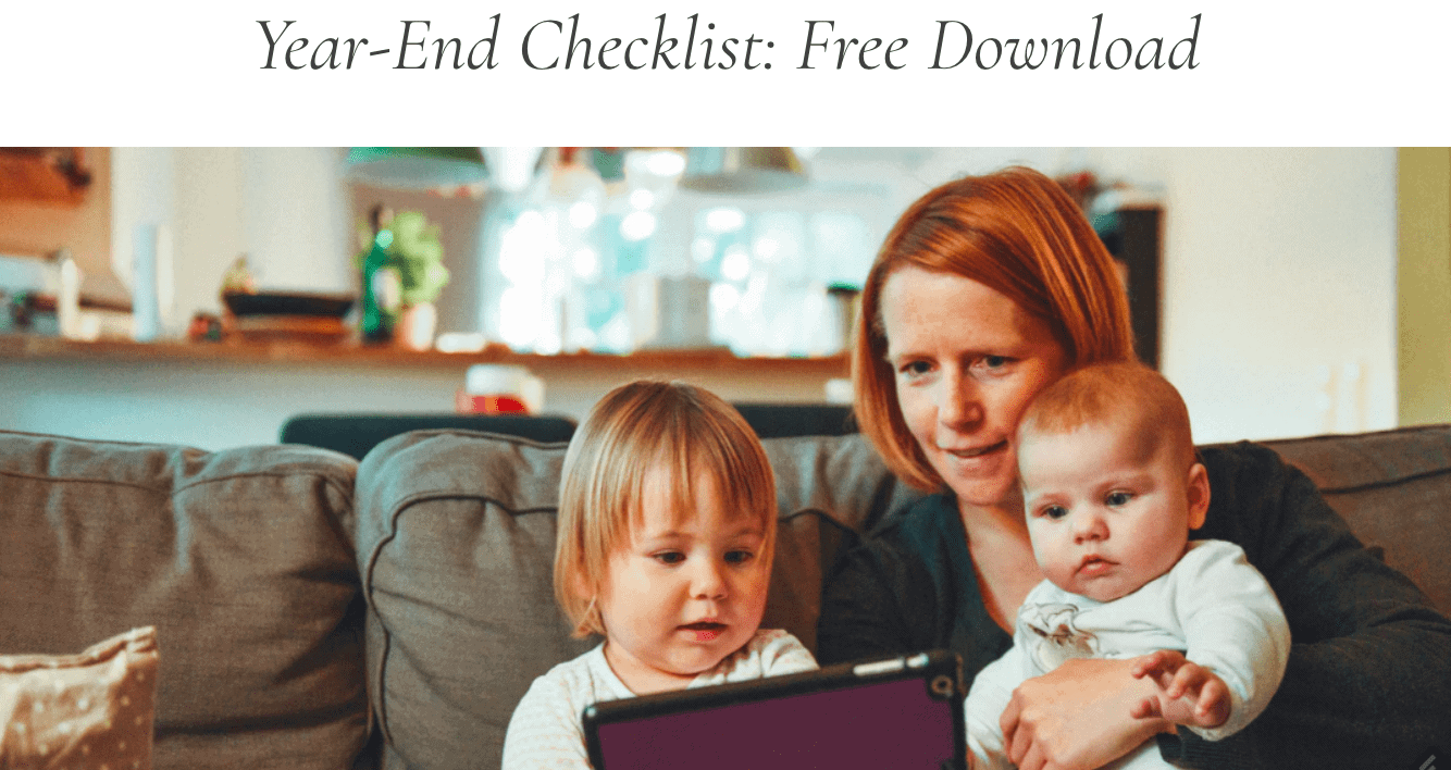 Financial Design Studio Year-End Financial Checklist Free
