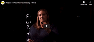 [Video] Prepare for your tax returns using FORMS
