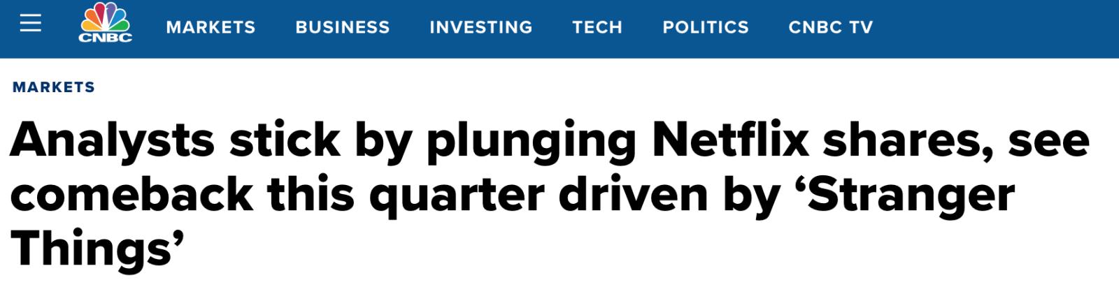 FDS draft financial planner netflix earnings season
