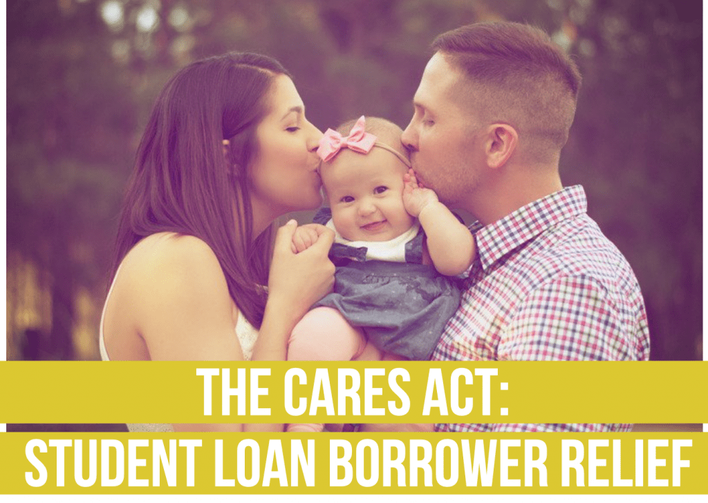The CARES Act- Student Loan Borrower Relief fee only financial advisor deer park barrington chicago draft