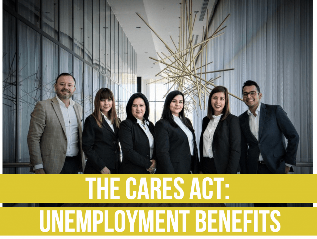 The CARES Act- Unemployment Benefits fee only financial advisor deer park barrington chicago unemployment benefits draft