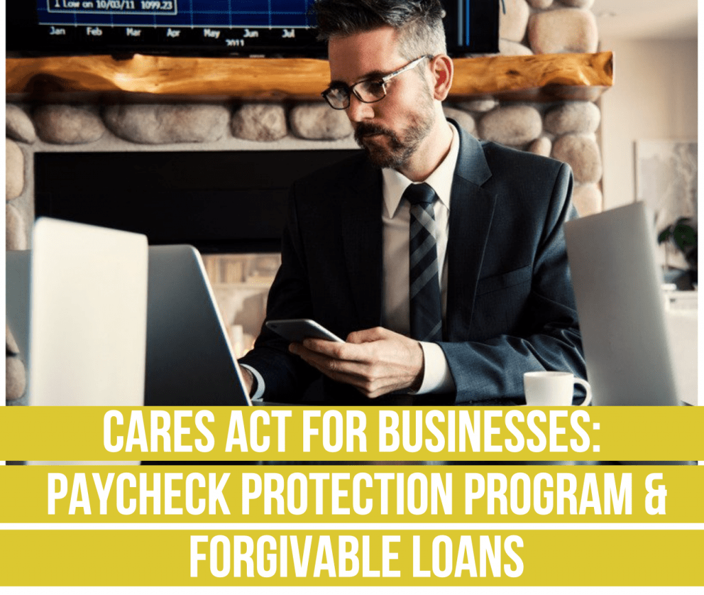 fee only financial advisor deer park barrington cares act for busiesses paycheck protection program and forgivable loans