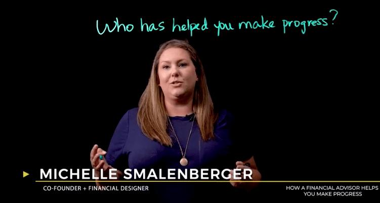 How a financial advisor helps you make progress