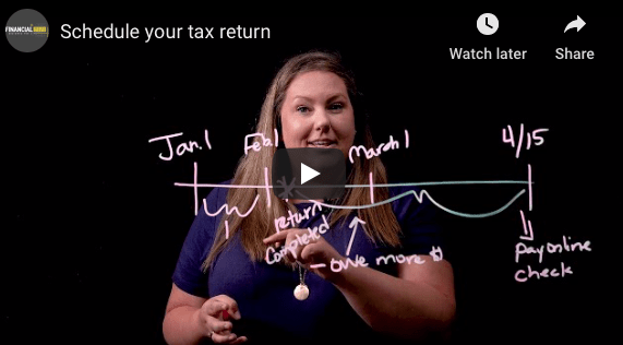 Schedule Your tax return
