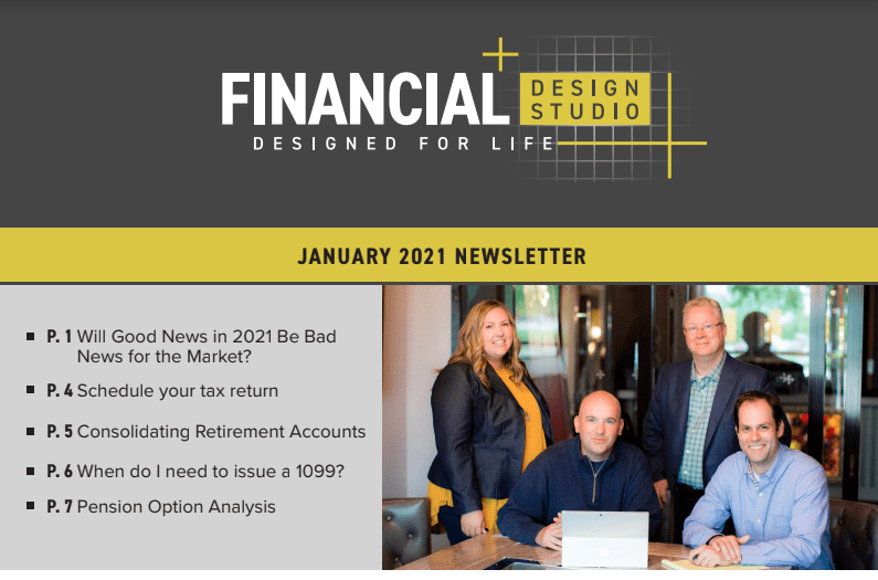 January 2021 Investment Newsletter