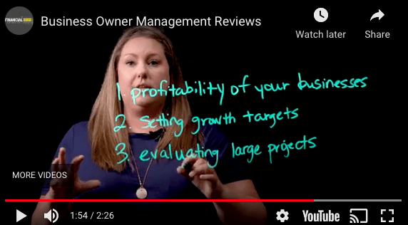 Business Owner- Management Reviews