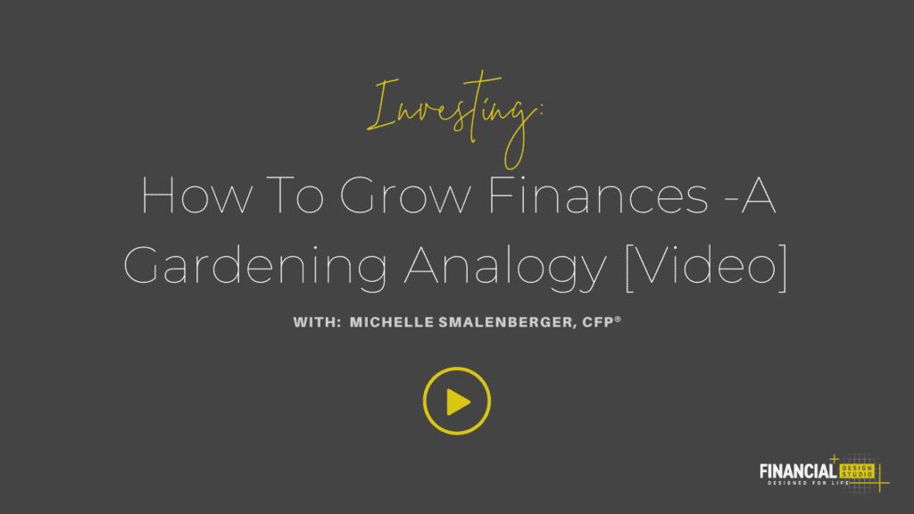 How to grow finances